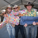 Birdsville Races Pic of Brandon Hendrey having his bucks party at the the races Pic of volunteer Ann Livingstone from Gold Coast .2019 © Photo by Salty Dingo 2019 .2019 © Photo by Salty Dingo 2019