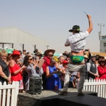 Birdsville Races Cup Day .2019.Pic of fashion on the course© Photo by Salty Dingo 2019